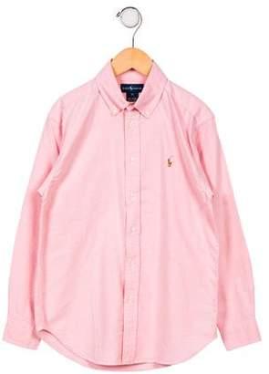 Ralph Lauren Boys' Button- Up Shirt