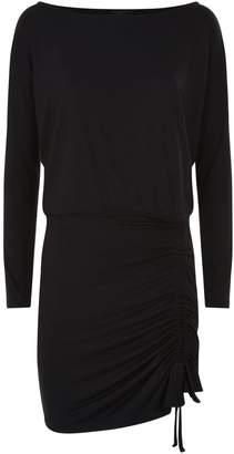 AllSaints Tavi Ruched Mini Dress