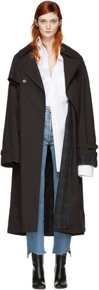 Vetements Black Mackintosh Edition Oversized Trench Coat $4,450 thestylecure.com