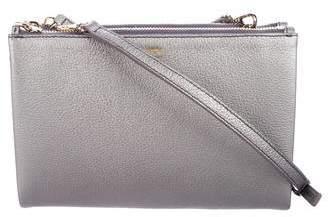 MCM Milla Double Zip Crossbody Bag