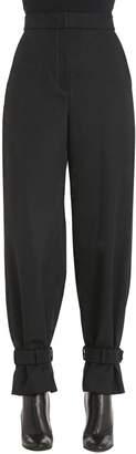 Fendi Gabardine Pants W/ Ankle Straps