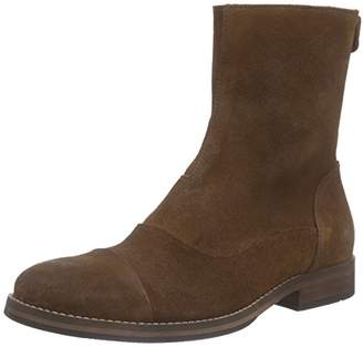 Mentor Women's Back Zip Boot Cold Lined Classic Boots Short Length Brown Size: