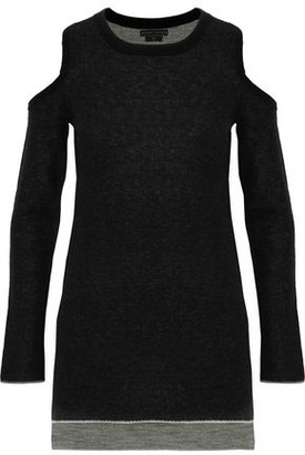 Alice + Olivia Wade Cold-Shoulder Wool And Cashmere-Blend Sweater