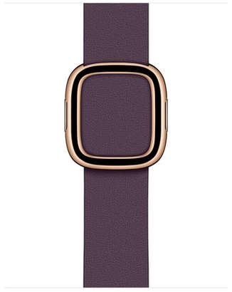 Apple 40mm Aubergine Modern Buckle - Large