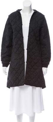 Marc by Marc Jacobs Quilted Hooded Jacket