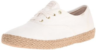Keds Women's Champion Washed Jute Fashion Sneaker $50 thestylecure.com