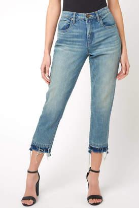 Blank NYC Madison The Plastics Straight Leg Crop Jean