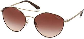 Vogue Women's Metal Woman Oval Sunglasses