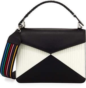 Les Petits Joueurs Pixie Bicolor Quilted Crossbody Bag