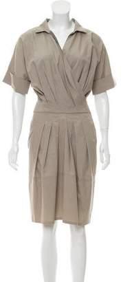 Brunello Cucinelli Lightweight Short Sleeve Dress
