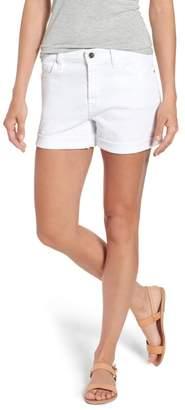 Jen7 Rolled Denim Shorts