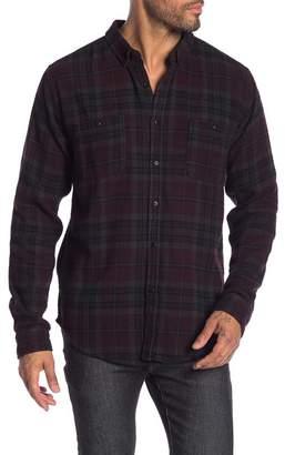 Ezekiel Malone Plaid Long Sleeve Regular Fit Shirt