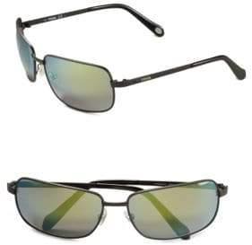 Fossil 62mm Square Sunglasses