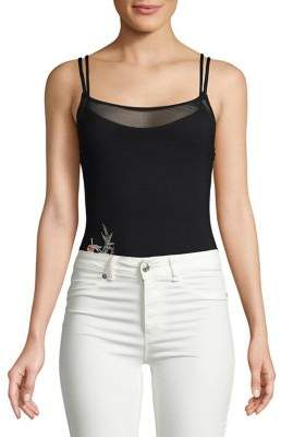 Vince Camuto Jules Dual Layered Bodysuit