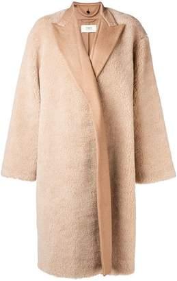 Ports 1961 oversized shearling coat