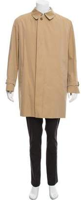 Burberry Pointed Collar Trench Coat
