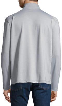 Callaway Men's Brushed Waterproof Long-Sleeve Pullover Jacket
