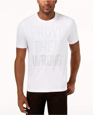 Sean John Men's Prove Them Wrong Mini-Stud T-Shirt