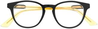 Gucci oval frame glasses