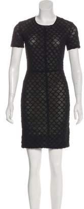 Raquel Allegra Short Sleeve Mini Dress