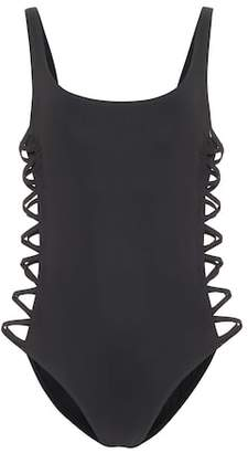 Tory Burch Lace-up swimsuit