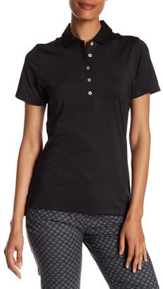 Peter Millar Short Sleeve Button Self Collar Polo $69.50 thestylecure.com