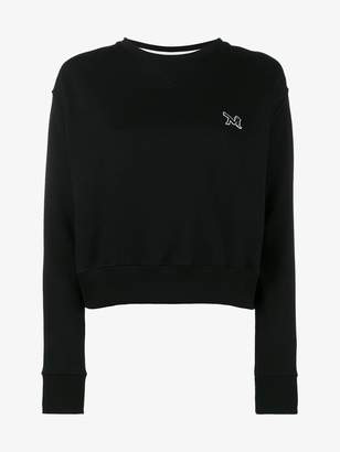 Calvin Klein crewneck sweatshirt with embroidery