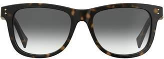 Moschino tortoiseshell sunglasses