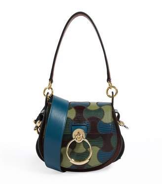Chloé Small Tess Camo Saddle Bag