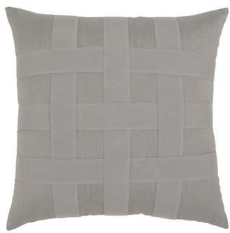 Basket Weave Indoor/Outdoor Accent Pillow