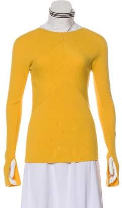 Cédric Charlier Wool Knit Top