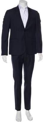 CNC Costume National Wool Notch-Lapel Suit