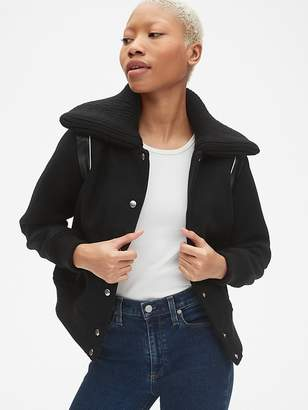 Gap Varsity Wool Bomber Jacket