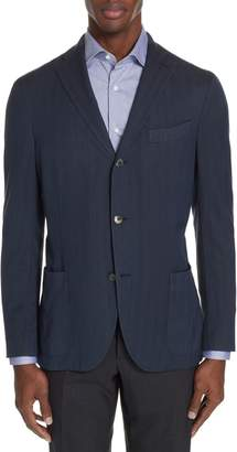 Boglioli Travel K Trim Fit Wool Blazer