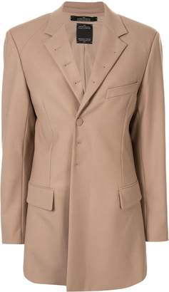 Rokh straight-fit tailored blazer