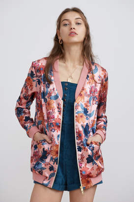 Finders Keepers RHAPSODY BOMBER blossom floral