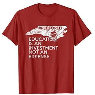 NC Red For Ed Shirt Education North Carolina Teacher Shirt