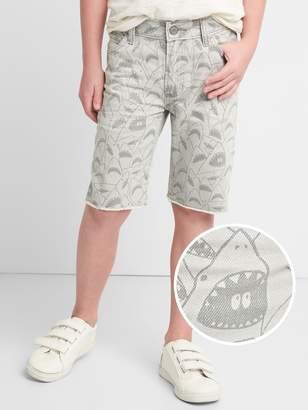 Gap Everyday Shorts in Shark Print