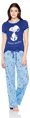 Peanuts Women's Snoopy 2-Piece Pajama Set