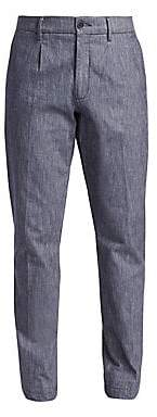 Saks Fifth Avenue Men's COLLECTION Chambray Chinos