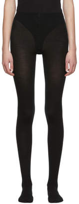 Wolford Black Merino Tights