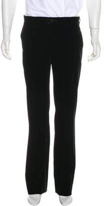 Giorgio Armani Velvet Dress Pants