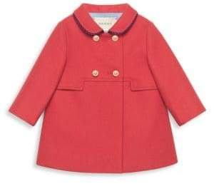 Gucci Baby Girl's Wool Coat