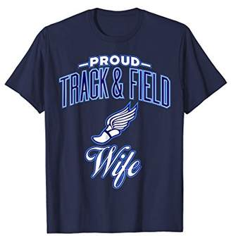 Track & Field Wife Shirt for Women