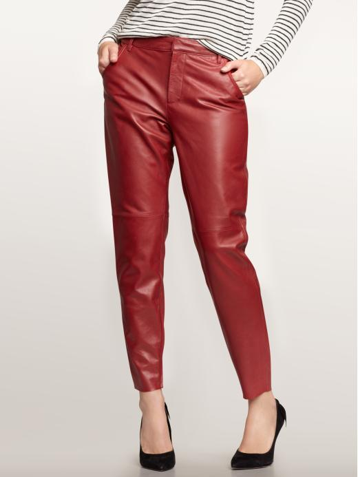 1969 Slouchy Leather Pants