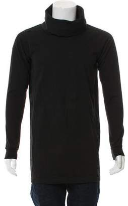 Rick Owens Turtleneck Long Sleeve Sweater