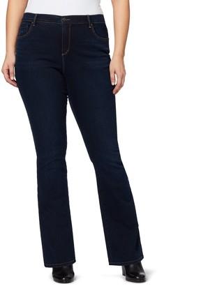 a713e549430cf Gloria Vanderbilt Plus Size Amanda Bootcut Jeans