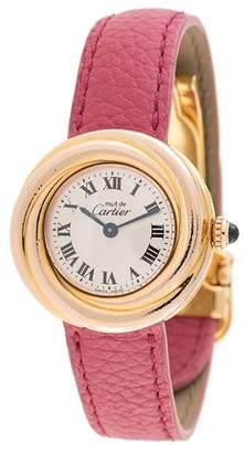 Cartier PRE-OWNED Must Trinity watch