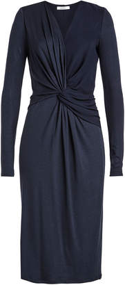 Max Mara Knot Front Knit Dress with Wool