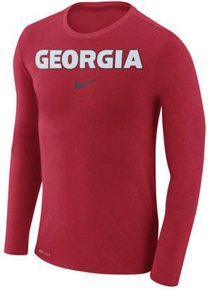 Nike Men's Georgia Bulldogs Marled Long Sleeve T-Shirt
